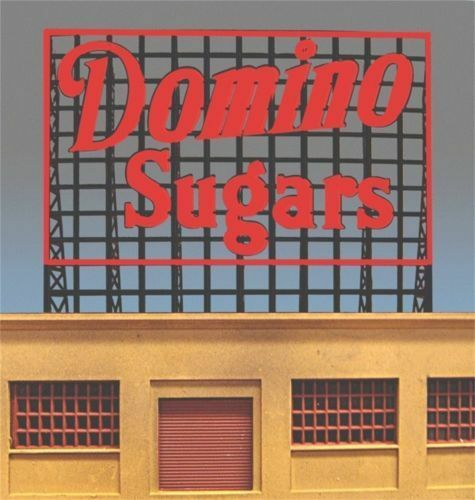 Domino Sugars MILLER ENGINEERING Animated Neon Sign O HO Scale 88-2401