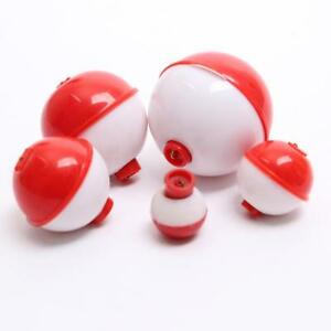 12pcs-Angeln-Schwimmer-Sortiment-Clips-Snap-On-Bobbers-Eagle-Klaue-Weiss-und-Rot