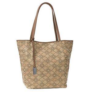 Shopper-von-TOM-TAILOR-Denim-Mila-Caro-Handtasche-Schultertasche-Tasche-in-Taupe