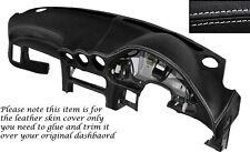 Punto Blanco Dash Dashboard Leather Piel tapa se ajusta Mitsubishi Gto 3000gt 92-99