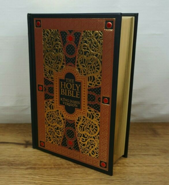 The Holy Bible King James Version KJV Gustave Dore Illustrated Leather Bound NEW