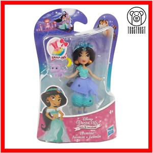 Jasmine-Mini-Figure-Disney-Princess-Little-Kingdom-Small-Toy-Snap-In-Doll