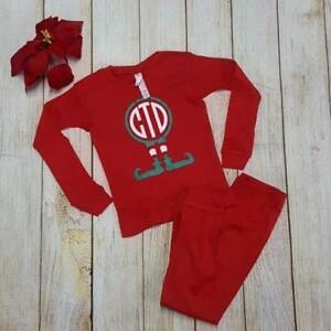 Personalized Christmas Pajamas Kids.Details About Toddler Christmas Pajamas Personalized Christmas Pajamas Kids Pajamas Toddler