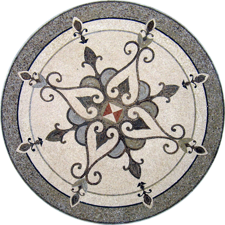 48  Handmade Decorative Medallion wall floor Marble Mosaic Art Stone Tile Decor.