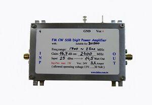 QO-100 15W SSB CW Power Amplifier for BU500