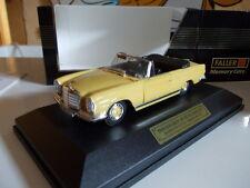Faller 1/43 - Mercedes-Benz 280SE 3.5 Cabrio W111  1969
