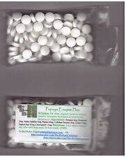 Papaya Enzyme Plus ChewableDigestion Skin Wounds Gas Bloat 90 tabs $6.25