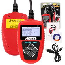 Ancel Battery Tester BA101 Automotive 12V Auto Vehicle Battery Analyzer AGM CCA