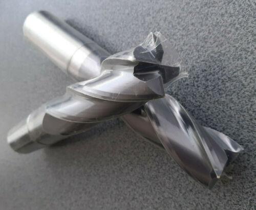 Schlichtfräser Z=4 Milling Inserts VHM Fräser Ø 25,0-24,0mm Schaftfräser