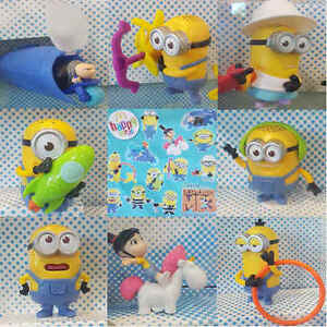 McDonalds-Happy-Meal-Toy-2017-Despicable-Me-3-Minions-Character-Toys-Various