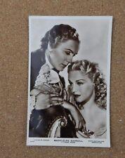 Madeleine Carroll 7 Tyrone Power Film card Real photo postcard  xc2