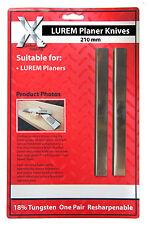 LUREM HSS Planer Blades 210 mm to suit LUREM machine  210202.5