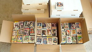 HUGE-10-000-LOT-OF-BASEBALL-CARDS-HUGE-BASEBALL-CARD-COLLECTION-1980-039-S-2000-039-S