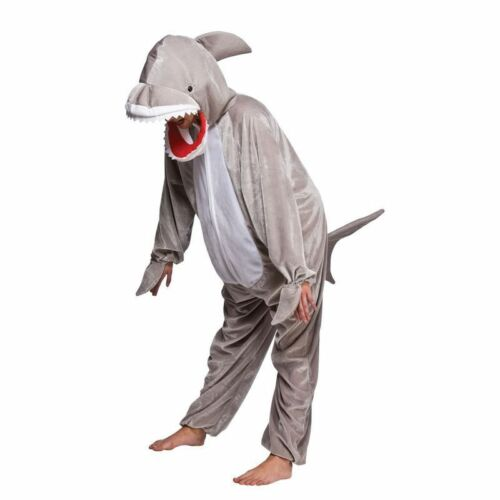 CHILDS UNISEX SHARK WITH OPEN MOUTH ANIMAL OUTFIT