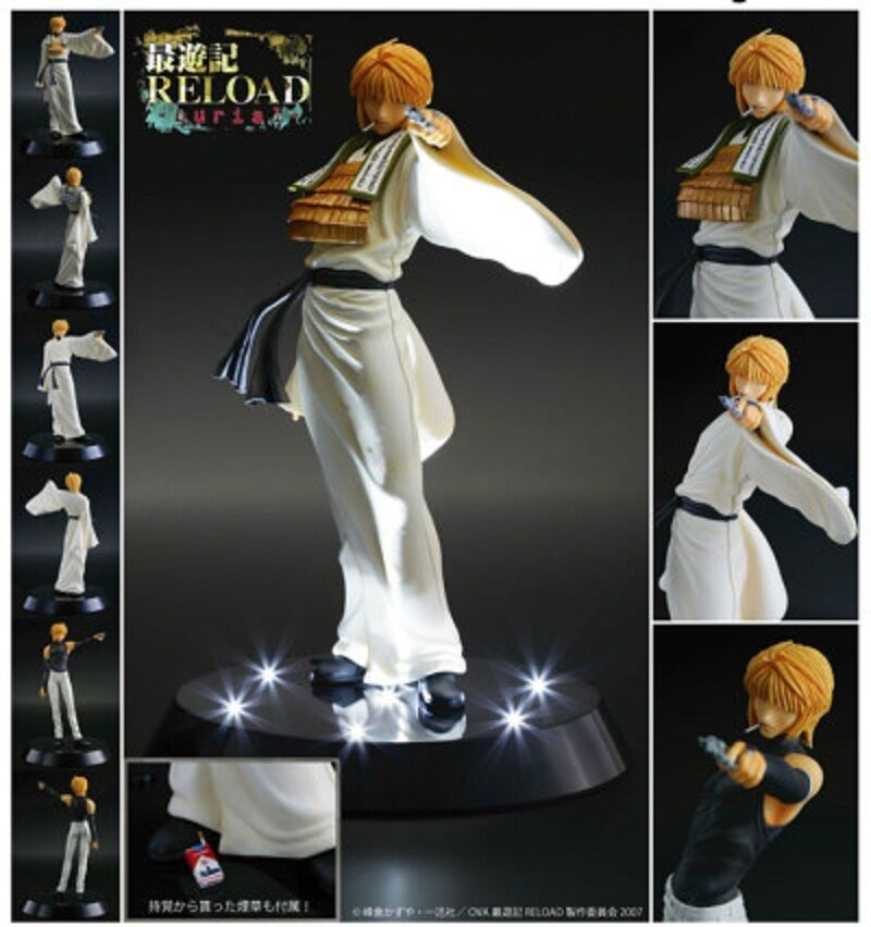 New rare First Class Saiyuki RELOAD burial Genjyo Sanzo PVC statue Figure