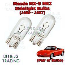 Mazda MX-5 MK1 NA White LED Superlux Side Light Beam Bulbs Pair Upgrade