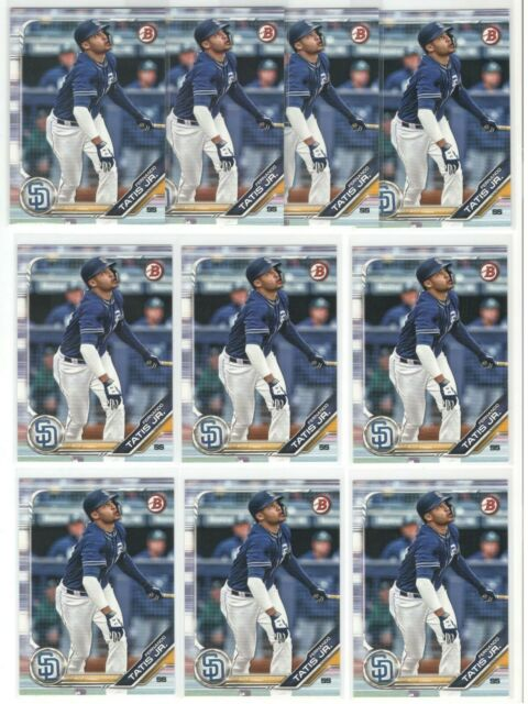 x10 FERNANDO TATIS Jr. 2019 Bowman Prospects Rookie Card RC lot/set #BP25 Padres