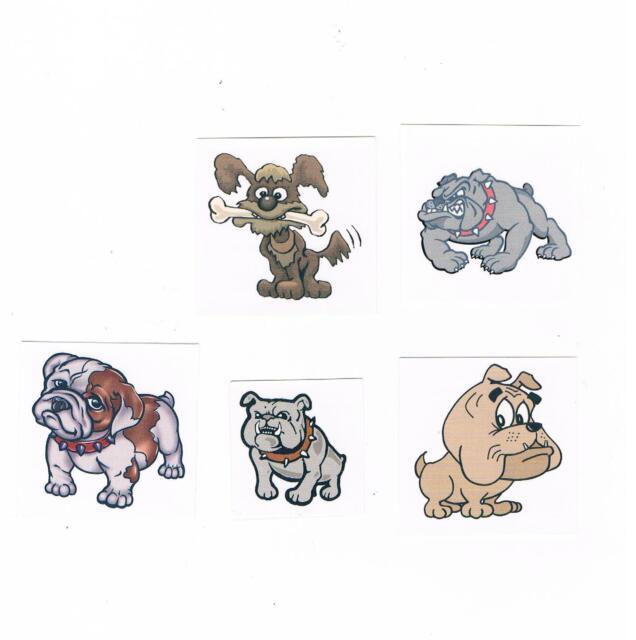 Henna Tattoo Supplies Brisbane: 5 X Cute Dog Temporary Tattoos