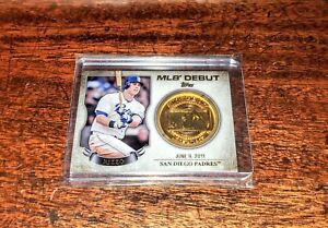 ANTHONY RIZZO RELIC MLBD2M-16 2016 TOPPS MLB DEBUT MEDALLION COIN