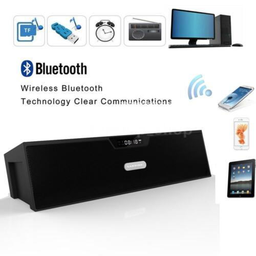 SARDiNE Portable Wireless Bluetooth Stereo Speaker FM Radio USB TF MicroSD Y9P3