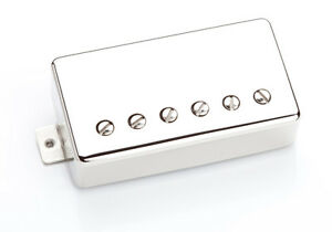 100% De Qualité Seymour Duncan Sh-1'59 Pont Humbucker-nickel 4 Conducteur-afficher Le Titre D'origine Nouveau Design (En);