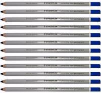 Staedtler Lumocolor Non-permanent Omnichrom Pencil - Blue - 108-3 - 12pc