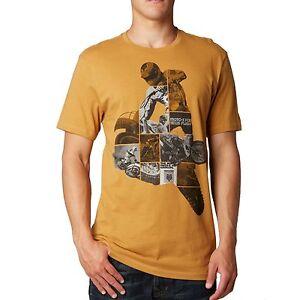 """Fox Racing Men's """"Throttler"""" Short Sleeve Premium T-Shirt Motocross Racing Tee"""