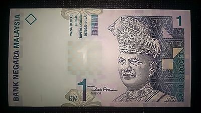 Malaysia One Ringgit RM 1 RM1 1998 Banknote P 39b UNC