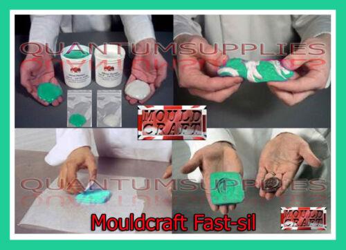 Mouldcraft Fast-Sil 25 100g Mould Making Silicone Putty RTV Food safe Sugarcraft
