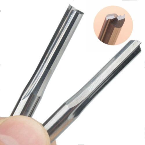 2pcs 6 mm DEC LONG CEL straight slot Bit wood cutter CNC Carbure Monobloc Routeur Bit