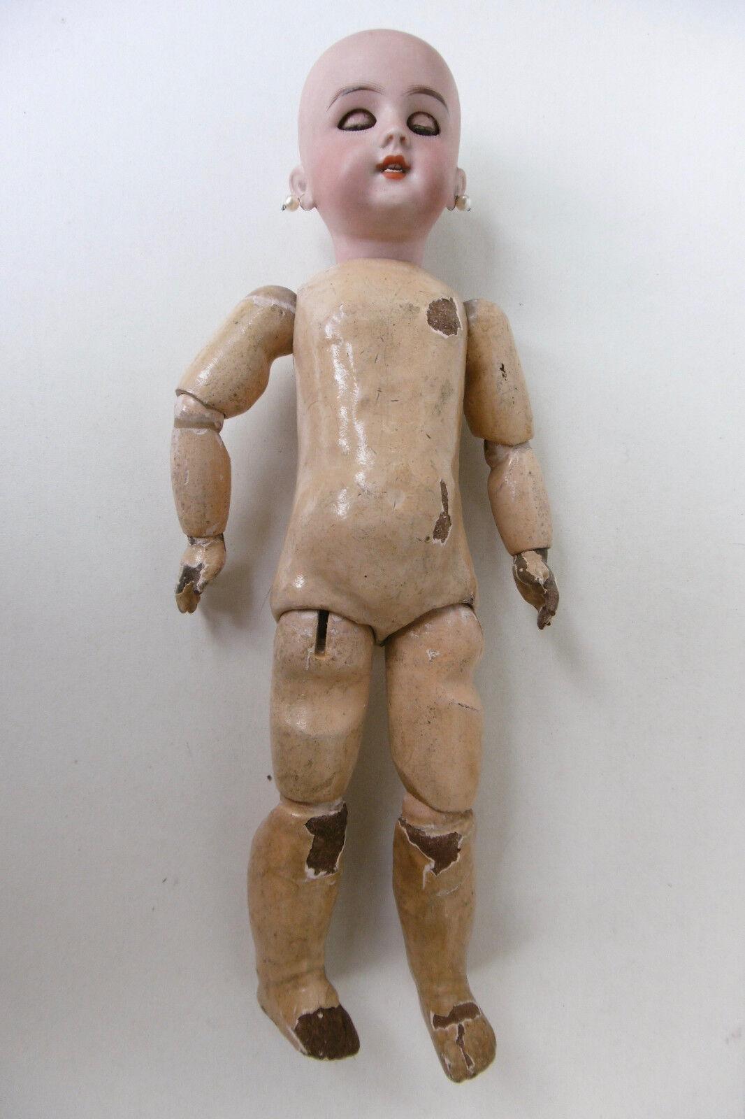 PETITE POUPÉE ANCIENNE DEP DEP DEP JUMEAU - HT 35 CM f1983e