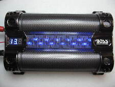 8 FARAD CAR AUDIO CAPACITOR WITH DIGITAL VOLTAGE DISPLAY Boss CAP8