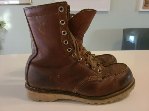 Vintage Winter Red wing S75 Sz 6.5 D Made in U.S.A