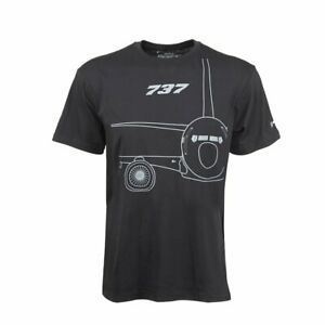 Boeing-737-Midnight-Silver-Shirt-original-von-Boeing-aus-Seattle-Groesse-L