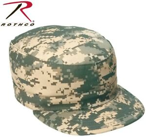Army Acu Digital Camo Military Army Patrol Cap Fatigue Hat Rothco ... a27cd72685