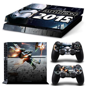 Sony PS4 Console and Controller Skins -- Star Wars Battlefront Design 3 (#1087) | eBay