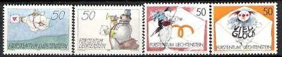 Temperamentvoll Liechtenstein Nr.1041/44 ** Grußmarken 1992 Liechtenstein Postfrisch Die Nieren NäHren Und Rheuma Lindern