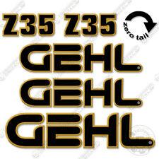 Gehl Z35 Decal Kit Compact Excavator Decals Z 35 Z 35 Stickers Mini