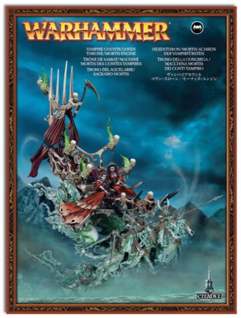 Warhammer AOS  maléfiques Mortis Engine Clan trône Bloodseeker palaquin  les promotions