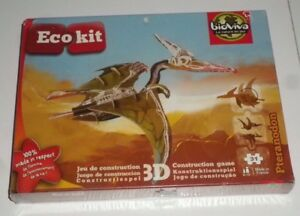 Eco-kit-Puzzle-3D-Pteradon-Red-Glove
