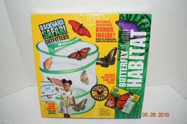 Backyard Safari Outfitters Butterfly Habitat ~~ Extra ...