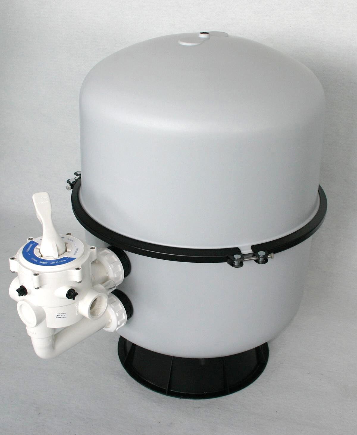 Sandfilter Filterbehälter Bilbao 350 6-Wege-Ventil Poolfilter Teichfilter