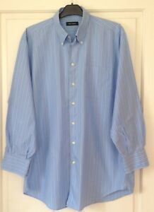 NAUTICA-Blue-and-White-Striped-Shirt-16-in