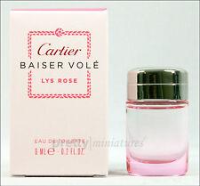 ღ Baiser Vole Lys Rose - Cartier - Miniatur EDT 6ml *New 2014*