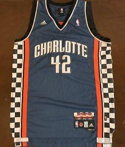3881ad4cd Rare Vintage Adidas NBA Charlotte Bobcats Sean May NASCAR Racing ...