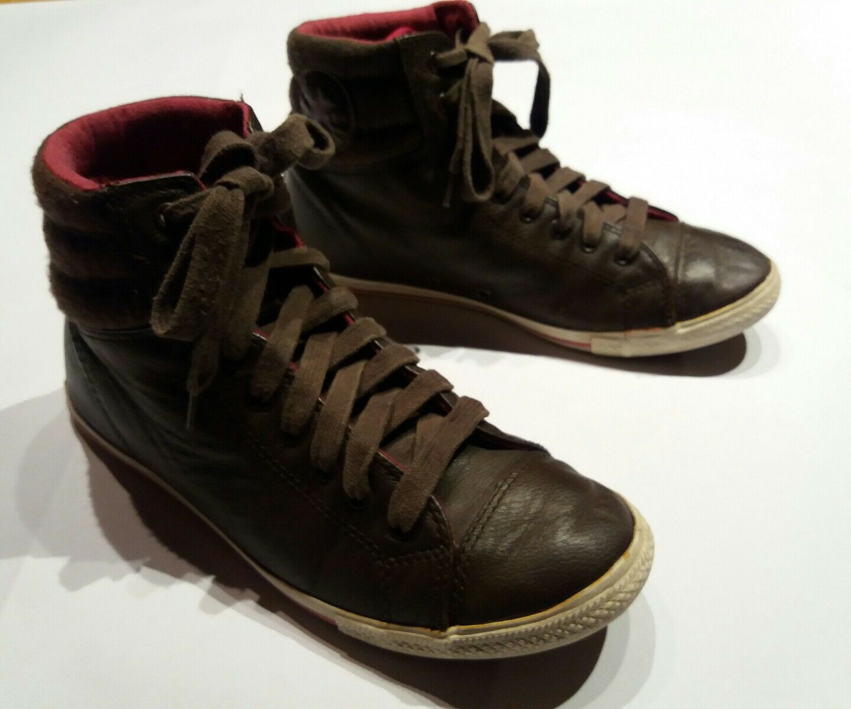 CONVERSE ALL STAR Unisex braun Sneaker Chucks Gr. 38 () braun Unisex Leder ef3dd7