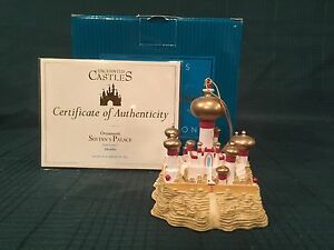WDCC Aladdin - Enchanted Castles Ornament Sultan's Palace - NIB