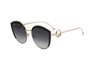 Occhiali-da-Sole-Fendi-metallo-nero-grigio-gradient-FF-0290-S-cod-807-9O