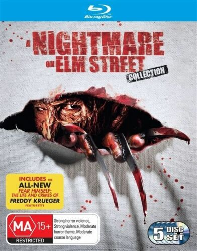 1 of 1 - Nightmare On Elm Street st Collection 1-7 Blu-ray Box Set Region Free not a DVD