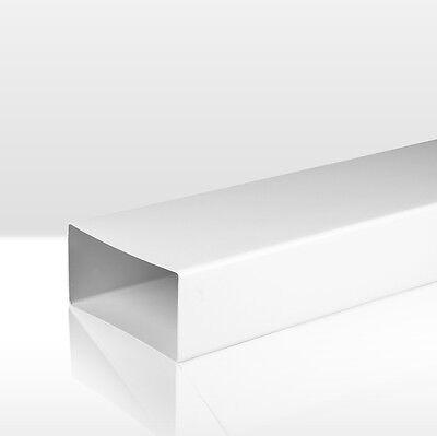 Flachkanal Abluftkanal Lüftungsrohr Abluft-Rohr Flachrohr 0,5 m 1,0 m 1,5 m